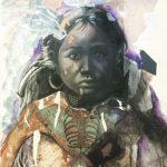 """Visiting Artist Susan Hagen, Mixed Media """"The Last Reservation"""""""