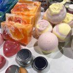 Soaps, Bath Bombs & Lip Balms