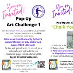 """""""Arts Are The Heart"""" Pop-Up Post Art Challenges"""