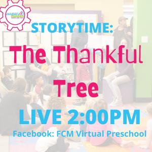 Virtual Preschool Storytime: The Thankful Tree