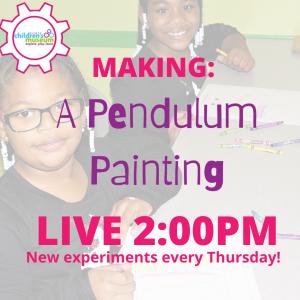 Live Experiments: Pendulum Painting