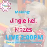 Live Programming: Jingle Bell Mazes