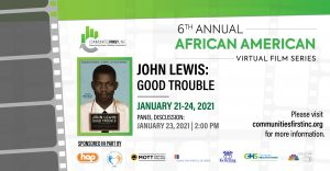 Communities First, Inc. to Screen John Lewis: Good Trouble