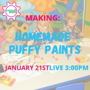 Virtual Programming: Homemade Puffy Paints