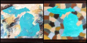 Two Styles of Michigan: An Acrylic Painting Class
