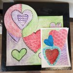 Hearts: In the Style of Jim Dine--CANCELLED