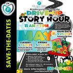 Flint Community Schools Kindergarten Drive Up Story Hour