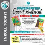 Flint Community Schools Kindergarten Open Enrollment