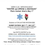 Sierra Club Nepessing Winter and Spring photo contest