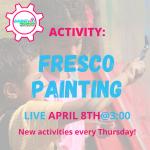Facebook Live Programming: Fresco Painting