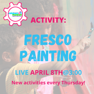 Facebook Live Programming: Fresco Painting
