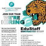 Flint Community Schools is Hiring!