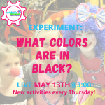 Facebook Live Programming: What Colors are in Black?
