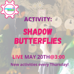 Facebook Live Programming: Shadow Butterflies