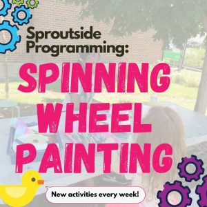 Sproutside Programming: Spinning Wheel Painting