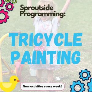 Sproutside Programming: Tricycle Painting