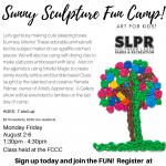 Sunny Sculpture Fun Camp for Kids!