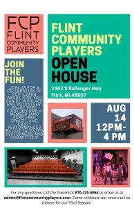 Flint Community Players OPEN HOUSE EVENT