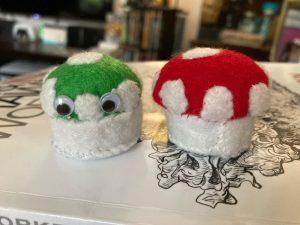 Beginner Artistic Sewing: Mushroom Pincushions