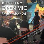 September Open Mic