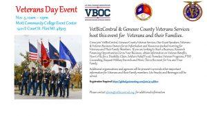 VetBizCentral Veterans Day Event Nov. 5 10am - 12p...