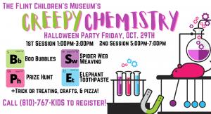 Creepy Chemistry Halloween Party