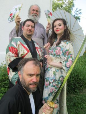"Kearsley Park Players present Gilbert & Sullivan's ""The Mikado"""