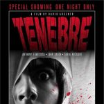 TENEBRE film showing presented by Synapse Films and the Flint Horror Collective