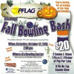 4th Annual Genesee County PFLAG Fall Bowling Bash FUNdraiser