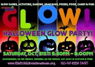 HALLOWEEN GLOW PARTY!