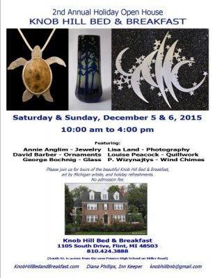 Knob Hill Bed & Breakfast - Second Annual Holiday Open House