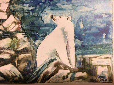 Watercolor Polar Bear Workshop