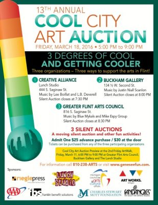 13th Annual Cool City Art Auction