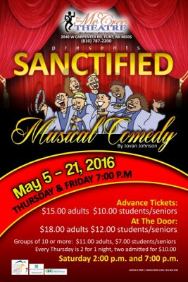 SANCTIFIED, A musical comedy by Javon Johnson