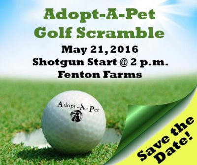 Adopt-A-Pet 11th Annual Golf Scramble