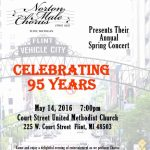 Norton Male Chorus Annual Spring Concert (Celebrating 95 Years)
