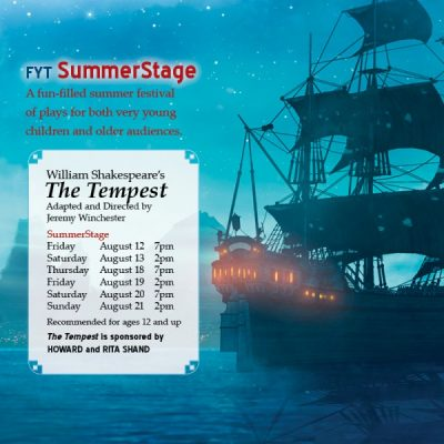 Flint Youth Theatre presents Shakespeare's The Tempest