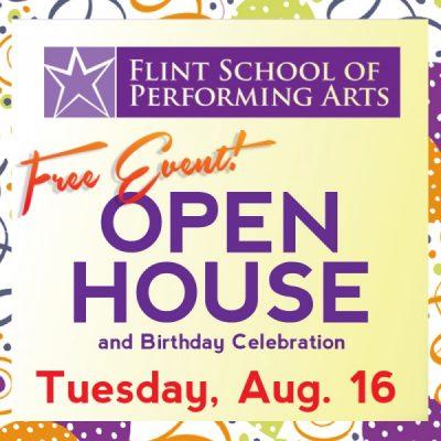 Flint School of Performing Arts & Flint Youth Theatre Open House