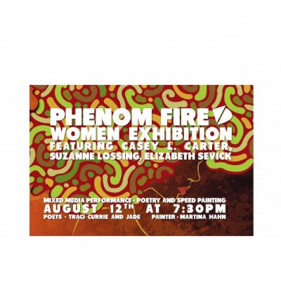 Phenom Fire Women Exhibition Opening Reception