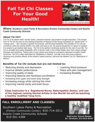 Tai Chi for Health!