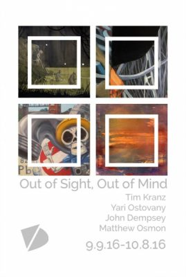 Out of Sight, Out of Mind Show Opening