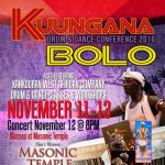Kuungana Drum and Dance Conference and Concert