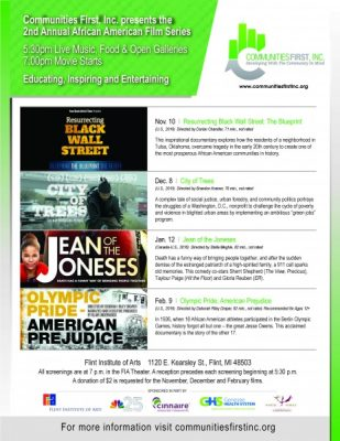 """Communities First, Inc. presents """"City of Trees"""""""