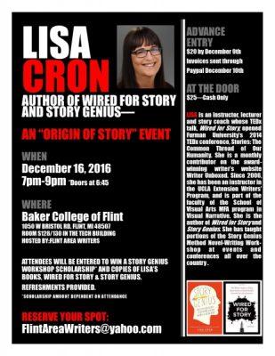"Lisa Cron: An ""Origin of Story"" Event"