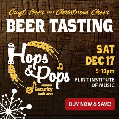 Holiday Hops & Pops Craft Beer Tasting