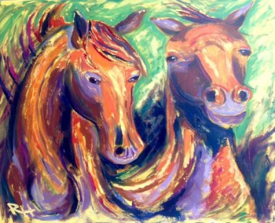 Rachel Holland Horse Drawing/Painting Workshop