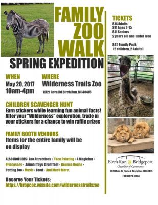 Wilderness Trails Zoo Spring Expedition
