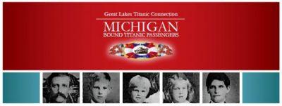 Michigan Bound Titanic Passengers