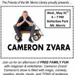 Family Fun Night with Cameron Zvara