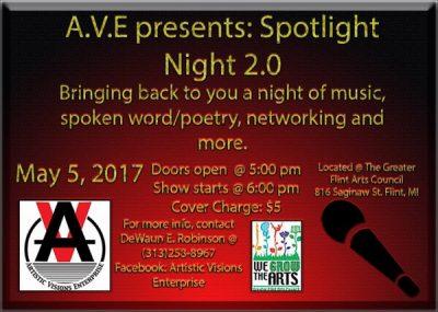 A.V.E. Presents: Spotlight Night 2.0